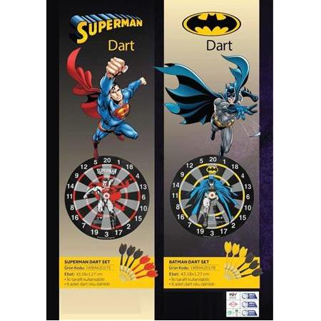 Warner Bros Superman Dart Set (6 Ok)