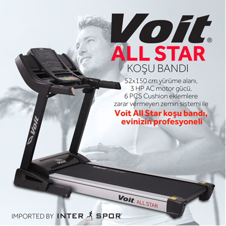 Voit All Star Koşu Bandı (52x150)