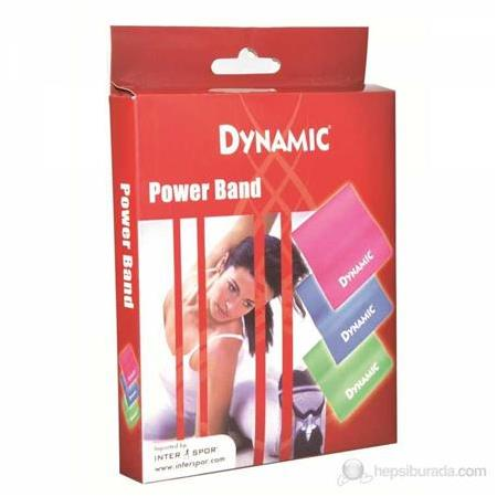 Dynamic Pilates Band Seti